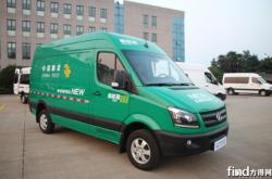 北汽长江开启绿色邮政时代