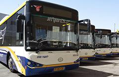 海格超级电容公交车畅行以色列