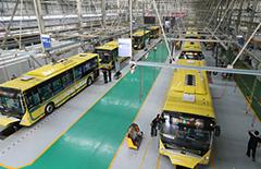 600辆宇通纯电动公交车陆续交付哈尔滨