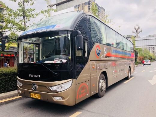 品质卓越 实力担当,福田欧辉护航2018环中国自行车赛
