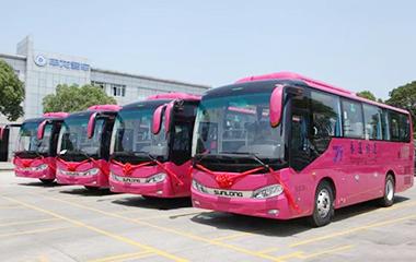 首获张家界旅游市场订单 51辆申龙旅游客车交付永通旅运