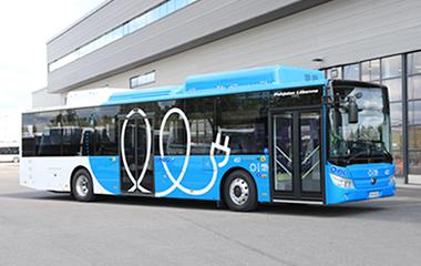 芬兰首批纯电动客车中国造,宇通助力欧洲美好出行
