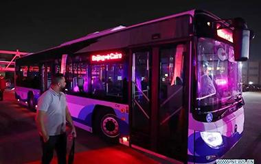 埃及最大纯电动公交车订单花落福田,中埃