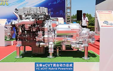 节油率超65%,玉柴全球首款e-CVT混动系统