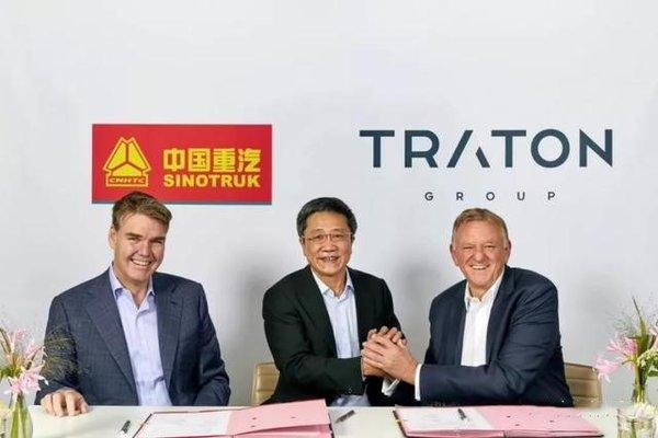与中国重汽合作 曼恩卡车将在中国生产