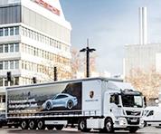 保时捷:全新32吨重载全电动卡车上线!