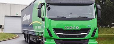 推动绿色运输,依维柯向欧洲领先的物流集