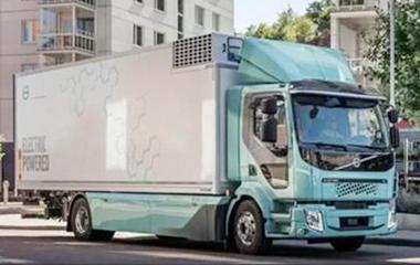 沃尔沃电动卡车发布:重16吨续航300公里,