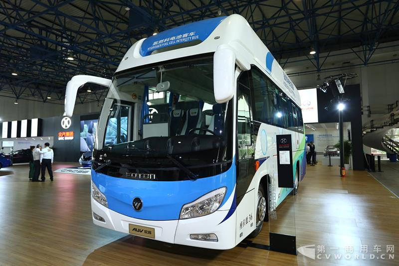 最新出台 上海燃料电池车按中央补助1:0