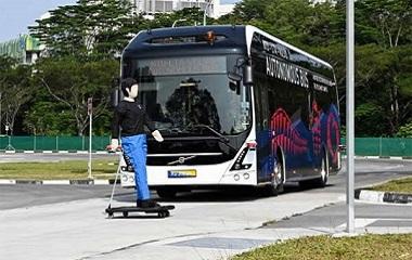 <strong>世界首辆全尺寸自动驾驶电动公交车落地</strong>